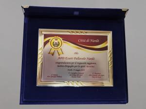 Premio dal Comune 2019